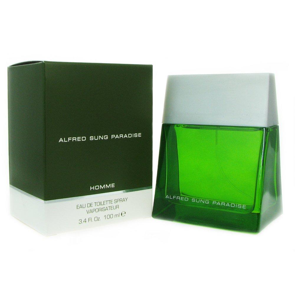 Alfred Sung Paradise by for Men Eau De toilette Spray, 3.4-Ounce 128253