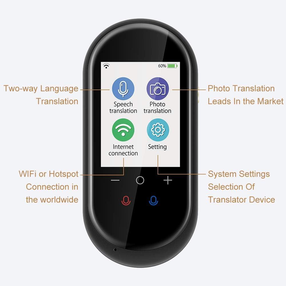 Birgus Language Translator Device Two Way Instant Voice Translator Support 106 L
