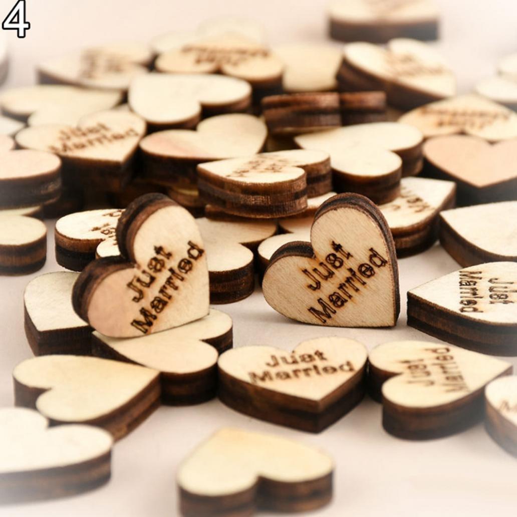 楽天 Eunomia 100個木製Loveハート星ウェディング表散布装飾クラフト素朴な木製 Eunomia ミニ I57R9GRP178EB15CSS B07BXYBYT2 I57R9GRP178EB15CSS ミニ #4, タイヤホイール専門店 ミクスト:4912e97c --- arcego.dominiotemporario.com