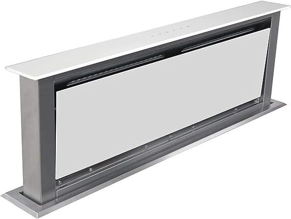 Sia dr91wh 90 cm Touch Control Downdraft blanco cocina Extractor de campana: Amazon.es: Grandes electrodomésticos