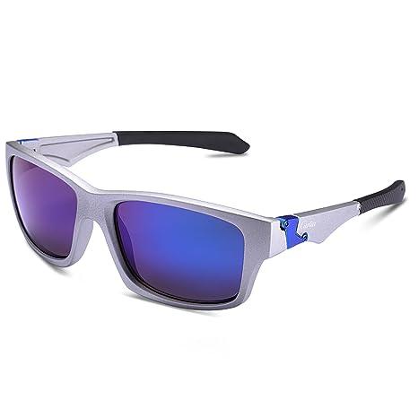 Carfia Gafas de Sol Polarizadas Gafas de Sol Deportivas para Conducción Golf Ciclismo Pesca Golf Correr