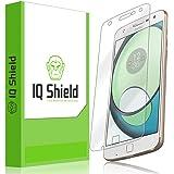 Moto Z Play Screen Protector, IQ Shield LiQuidSkin Full Coverage Screen Protector for Moto Z Play (Z Play Droid) HD Clear Anti-Bubble Film