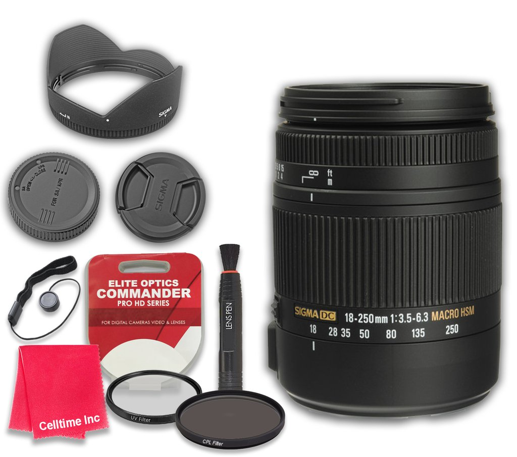 Ultraviolet UV Multi-Coated HD Glass Protection Filter for Sigma 18-250mm f3.5-6.3 DC MACRO OS HSM Lens