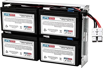 New Battery Pack for APC Smart-UPS 1000VA RM 1U SUA1000RM1U Compatible Replacement by UPSBatteryCenter