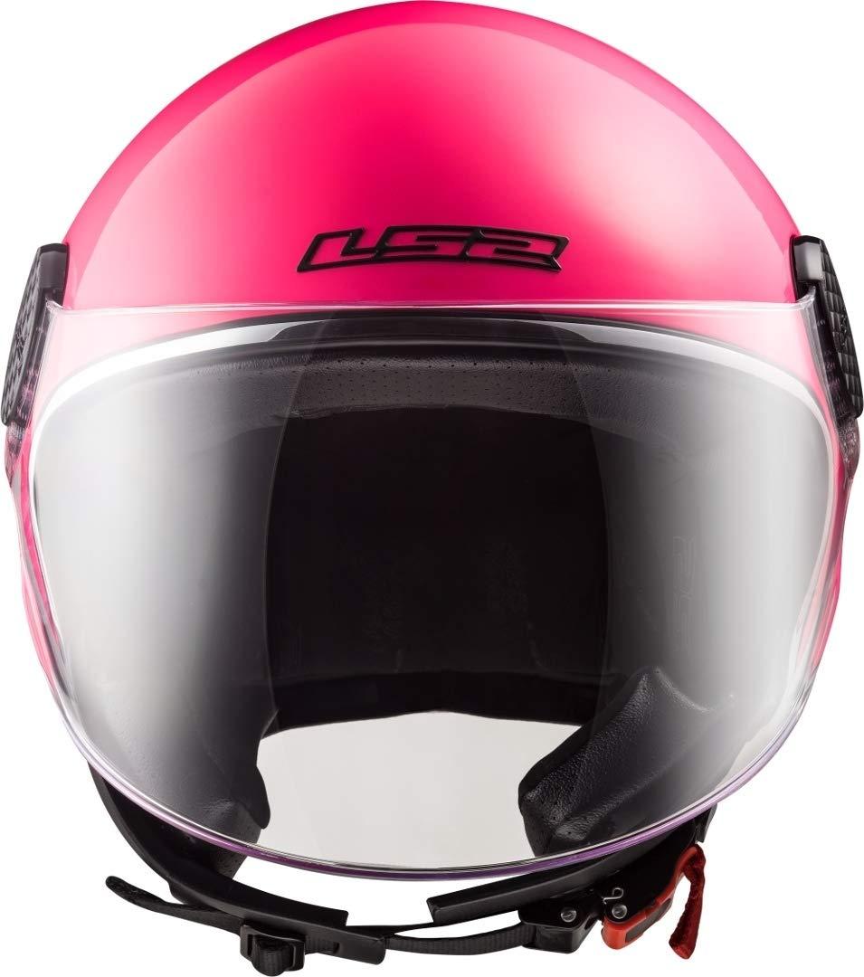 LS2 Casque moto OF558 SPHERE LUX Rose M Fuchsia