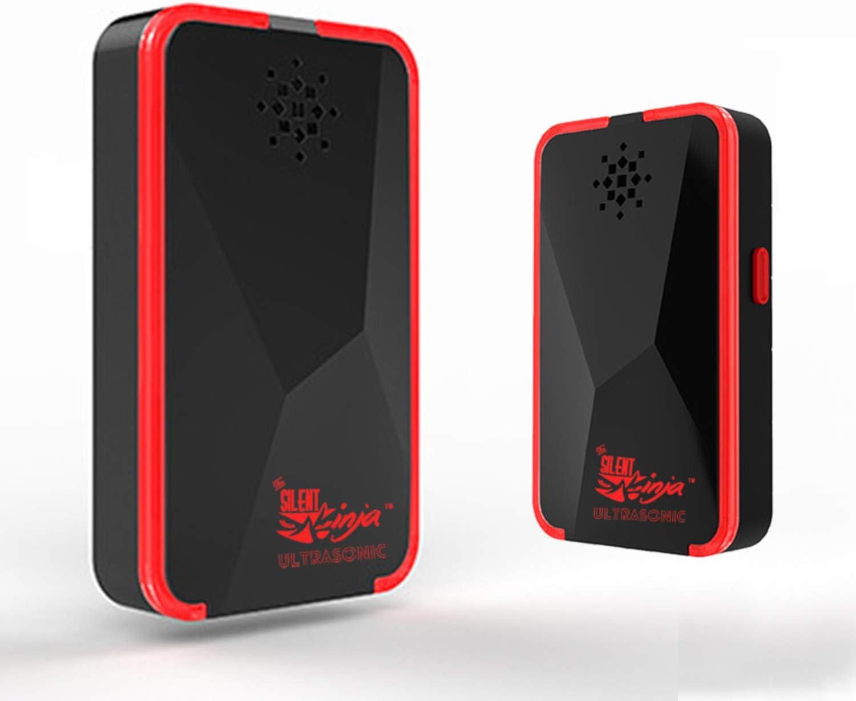 Silent Ninja Ultrasonic Pest Repellent   Mosquito Plug-in Pest Control   Electronic Mouse Deterrent (Black)
