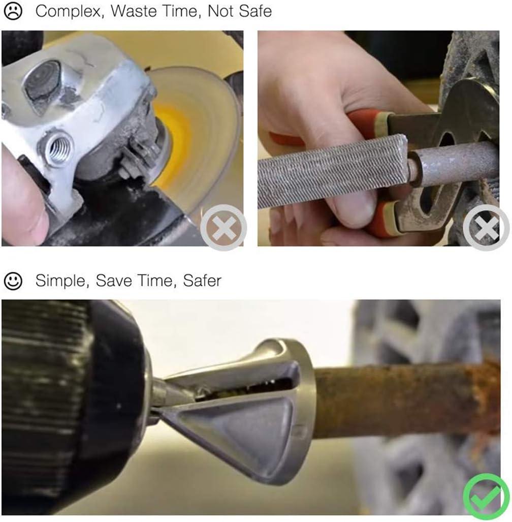 Amazon.com: CIGOTU - Broca de ángulo recto + herramienta de ...
