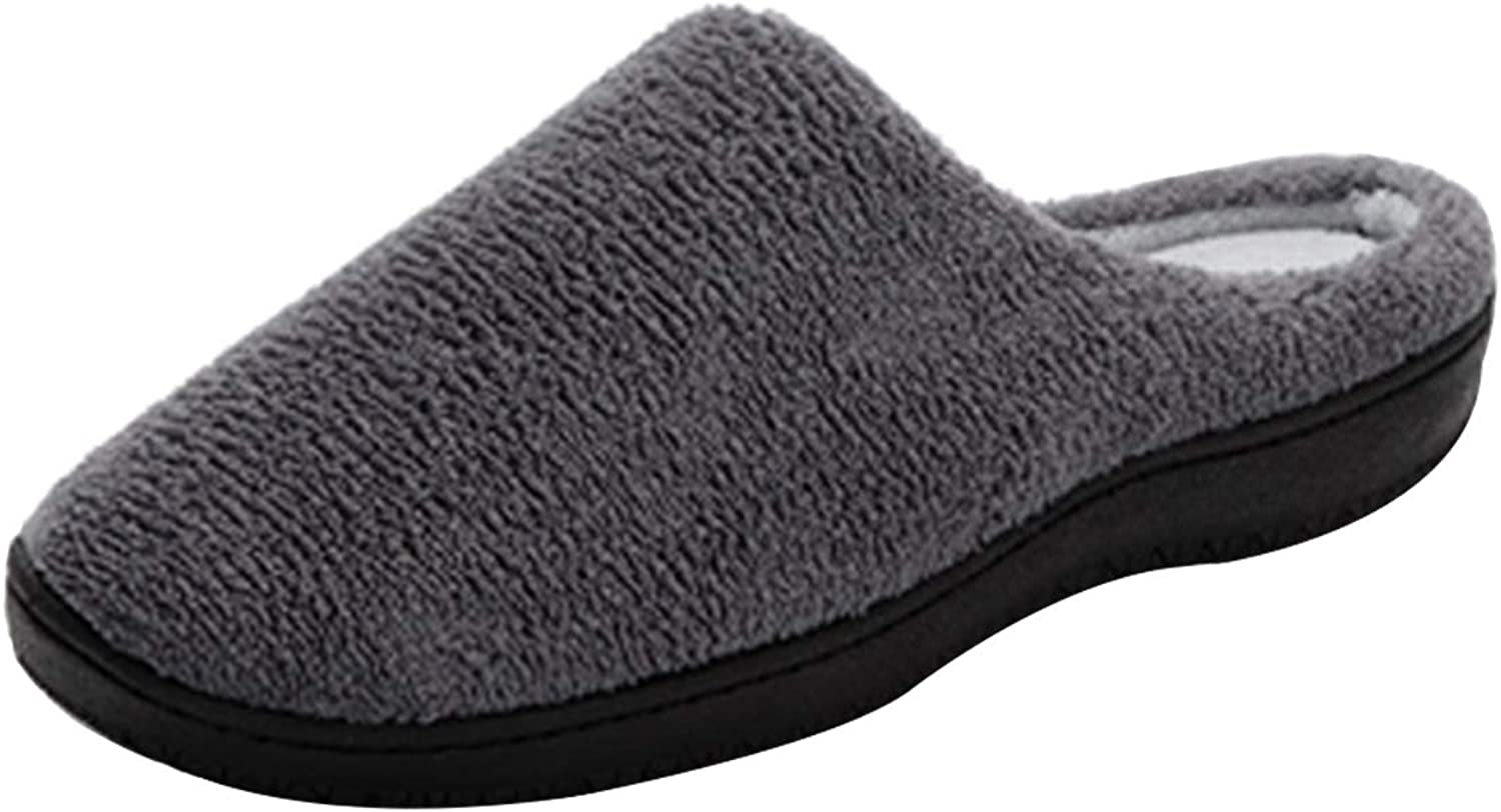 Century Star Womens and Mens House Shoes Slippers Warm Cotton Plush Fleece Memory Foam Lining Home Shoes Outdoor//Indoor