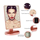 LED Lighted Makeup Mirror, FUNTOUCH Lighted Vanity