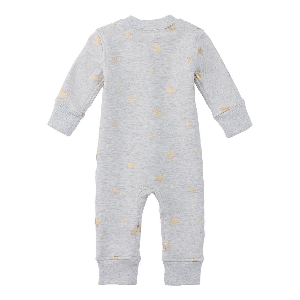 Owlivia Organic Cotton Baby Boy Girl Fleece Zip Up Sleep N Play Size 0-18 Month Footless Long Sleeve