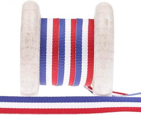 Al metro de cinta de bandera de Francia, multicolor, 10 mm: Amazon.es: Hogar