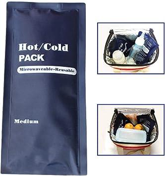 Lincong Hot Cold Pack Conveniente Reutilizable Caliente y frío Gel ...
