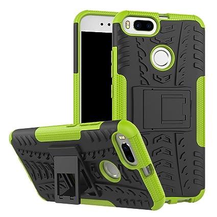 Rockwey Funda para Xiaomi Mi A1,cáscara del teléfono,la Banda de Rodadura/
