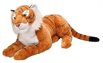 Amazon Com Wild Republic Jumbo Tiger Plush Giant Stuffed Animal