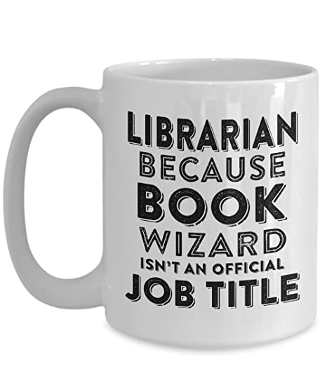Amazoncom Funny Gift Ideas Librarian Because Book Wizard