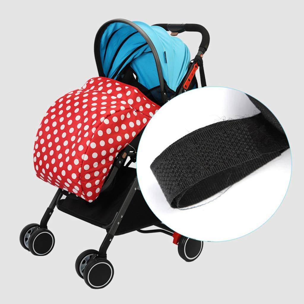 Negro JOYKK Universal Stroller Footmuff Warm Foot Cover Baby Infant Accesorios