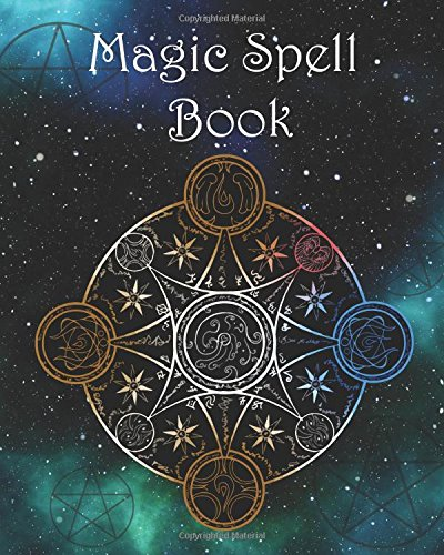 Magic Spell Book: Blank Attractive Spells Records & more  Paperback Notebook Journal Pentacle Shadows / Grimoire Journal Pentacle Magick Gifts Large ... Spell Book-In the Dark of Night) (Volume (Magic Spell Books)