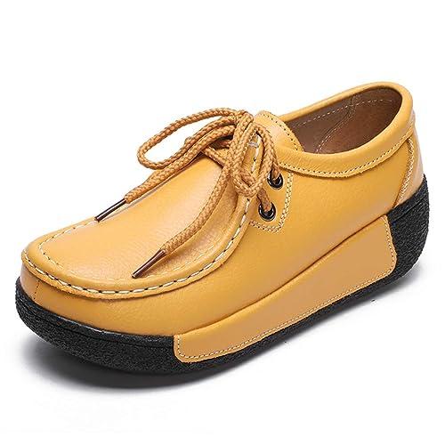 Mujer Pisos Mocasines Mocasines Zapatillas De Deporte Verano OtoñO Invierno Mujer Casual SeñOras Plataforma De Peluche CuñAs Zapatos: Amazon.es: Zapatos y ...