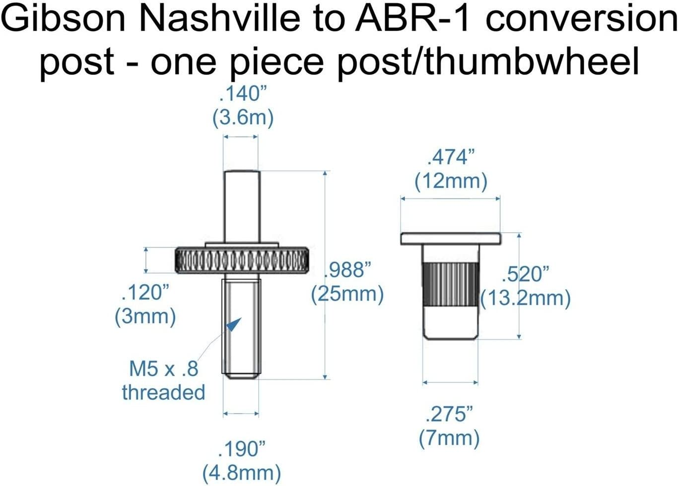 Nickel Conversion posts US Nashville to ABR-1 M5 to .140/""