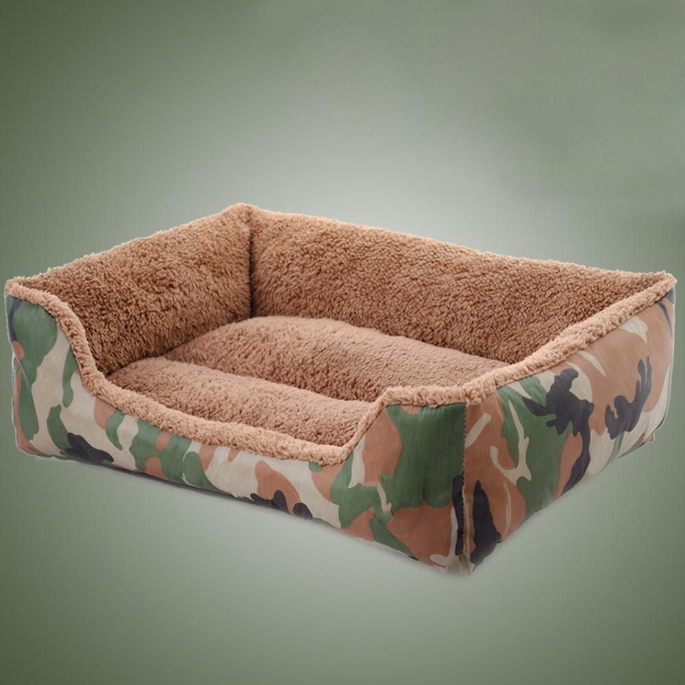 584514cm Weiwei Dog bed Pet Nest jungle camouflage nest square nest dog bed