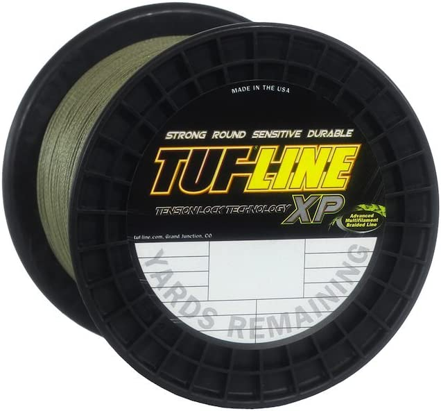 Tuf-Line XP 1200 Yard Fishing Line Green, 65-Pound