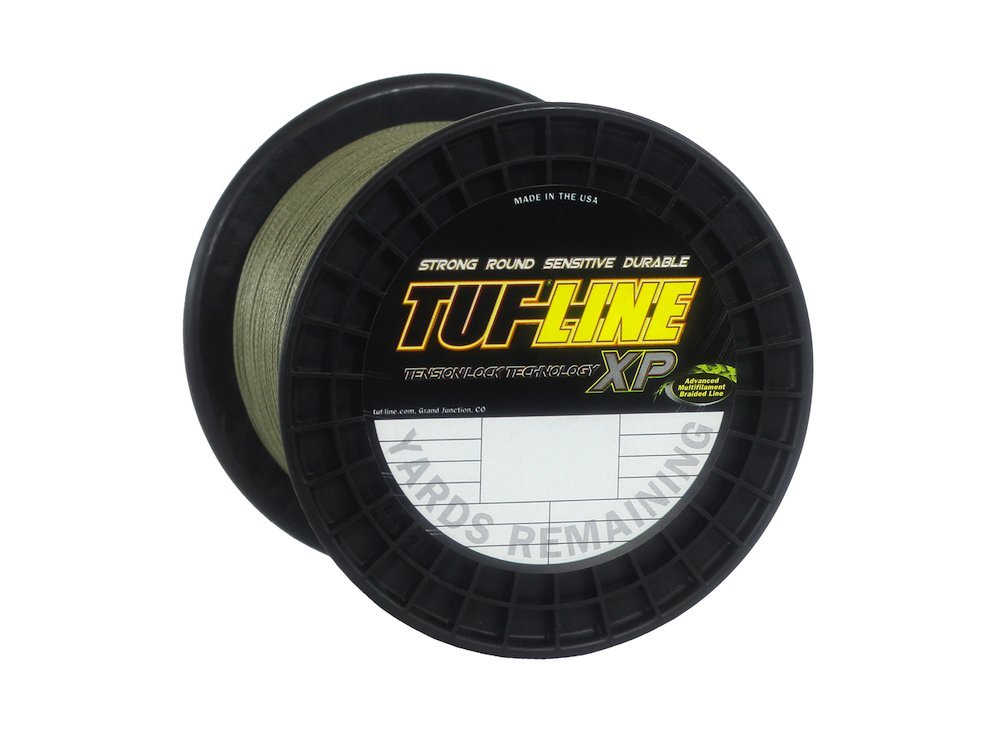 Tuf-Line XP 1200 Yard Fishing Line (Green, 20-Pound) by Western Filament