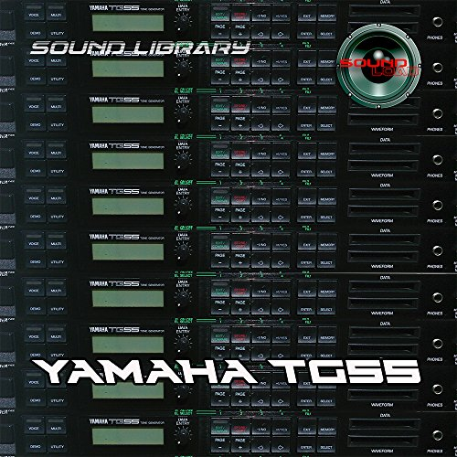 YAMAHA TG55 Large Original Factory and NEW Created Sound Library & Editors PC/Mac on CD or for download by SoundLoad