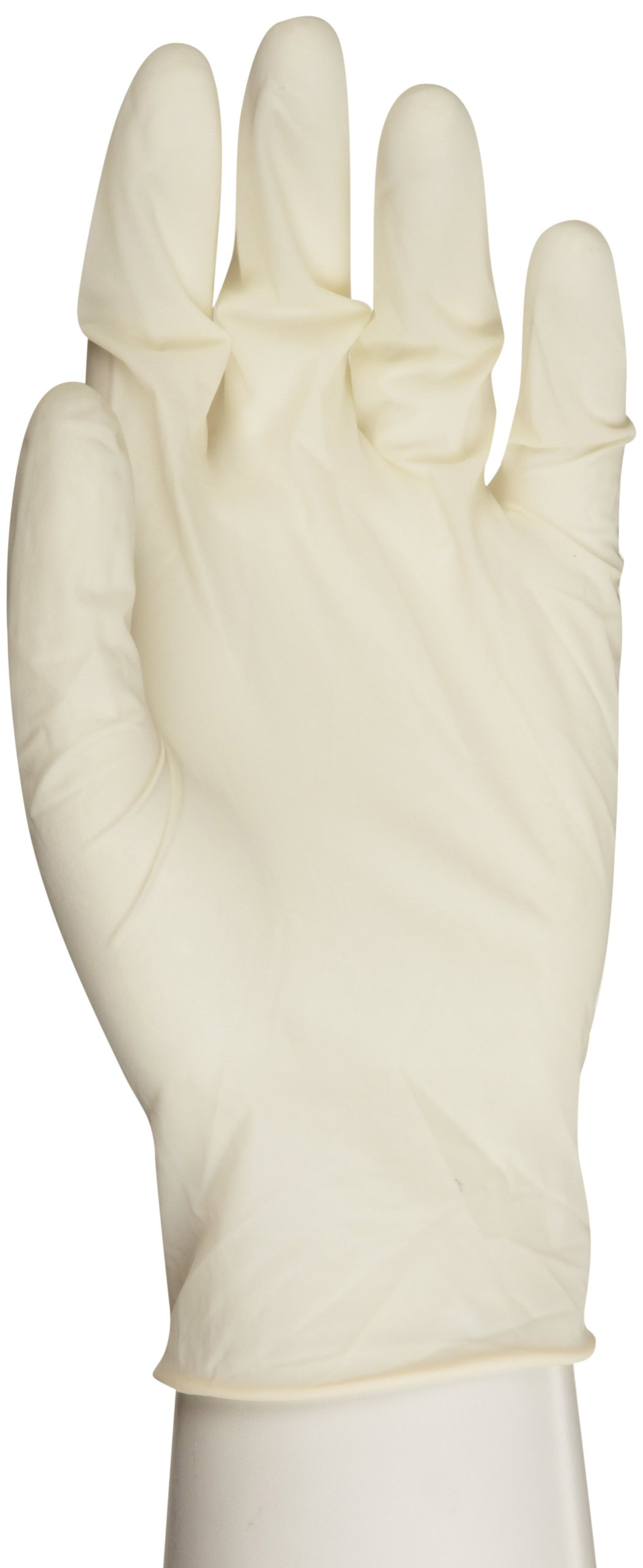 Microflex ComfortGrip Latex Glove, Powder Free, 9.6'' Length, 5 mils Thick, Small (Pack of 1000)