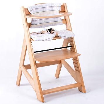 Treppenhochstuhl Kinderhochstuhl Holz Hochstuhl Kinderstuhl Babyhochstuhl Stuhl