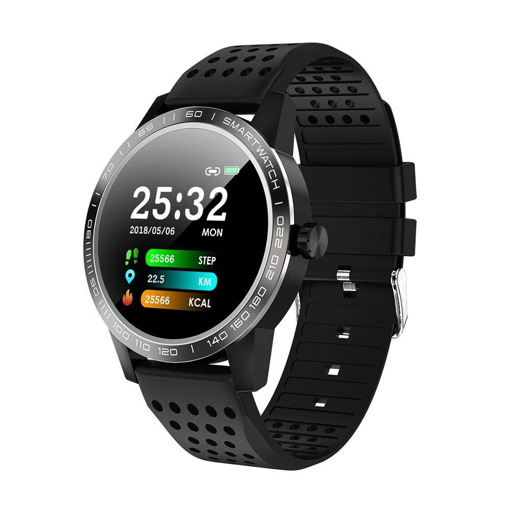 Ladeyi T2 Sports Smart Bracelet 1.3 inch Color Screen Waterproof Blood Pressure and Heart Rate Health Watch Bracelet (Paper Box)