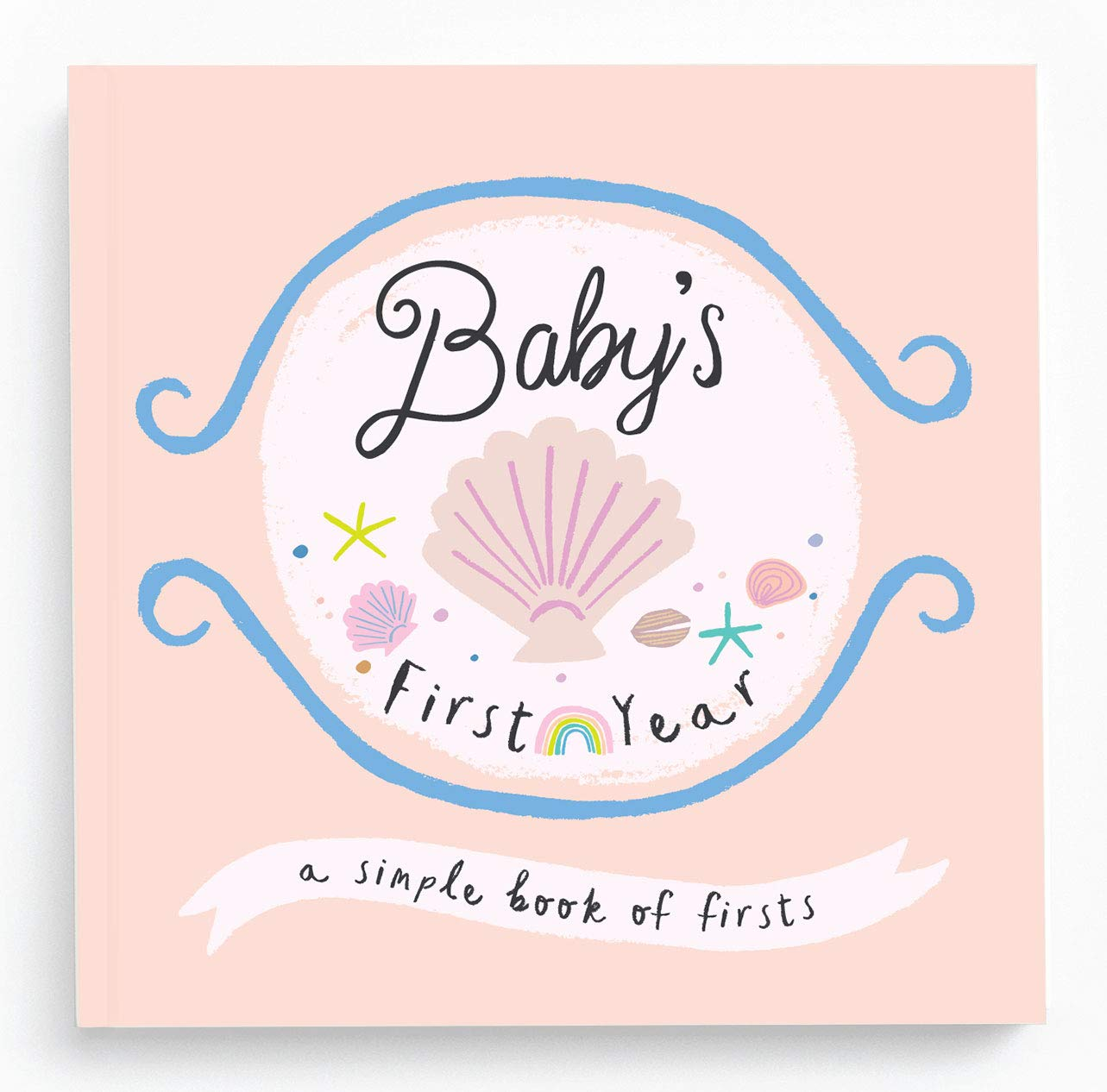 Baby Books First Year Memory Book - Little Beach Babe Memory Book - Lucy Darling