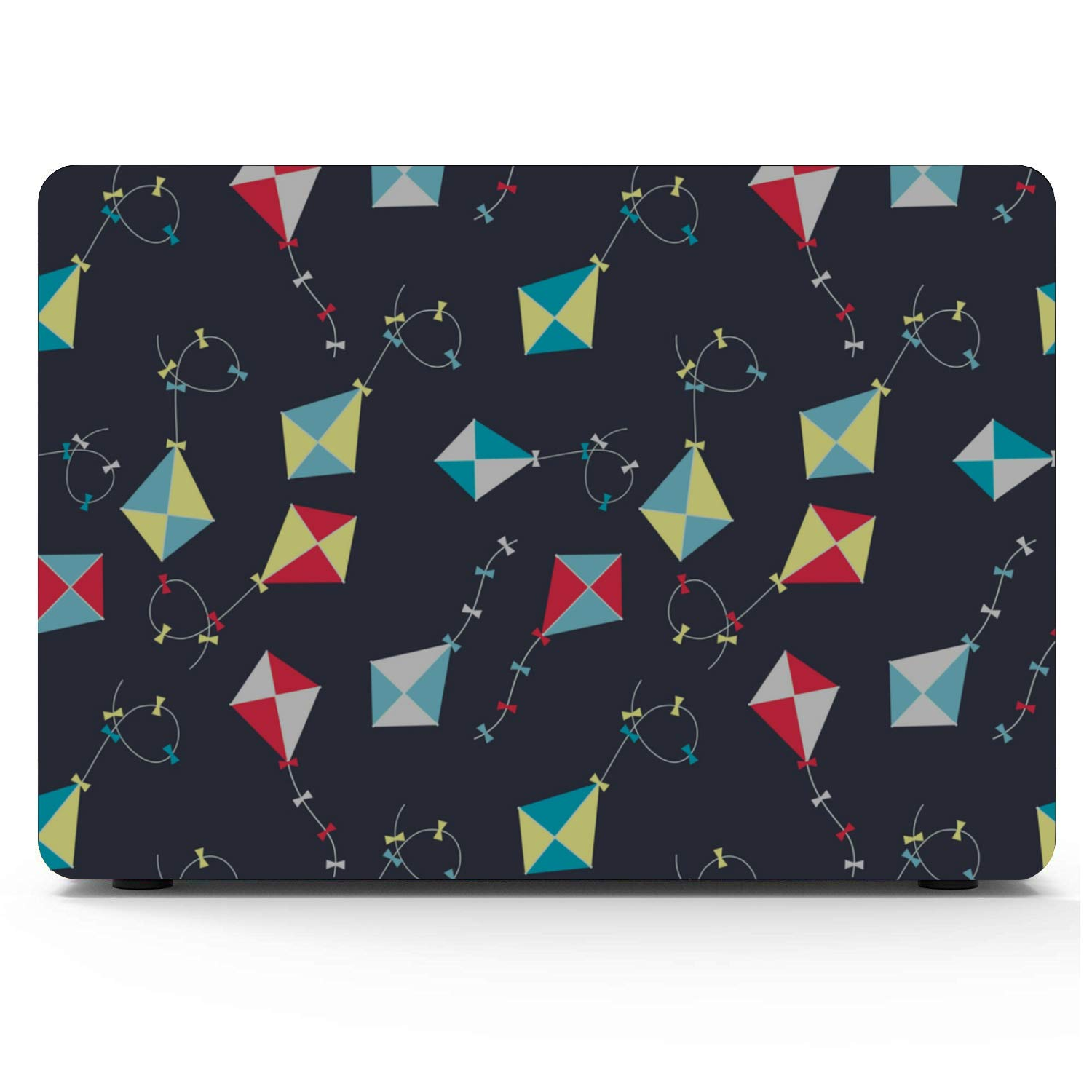 MacBook Air 13in Case Spring Children Play Game Toy Kite Plastic Hard Shell Compatible Mac Air 11 Pro 13 15 Cover MacBook Air 13 Protection for MacBook 2016-2019 Version