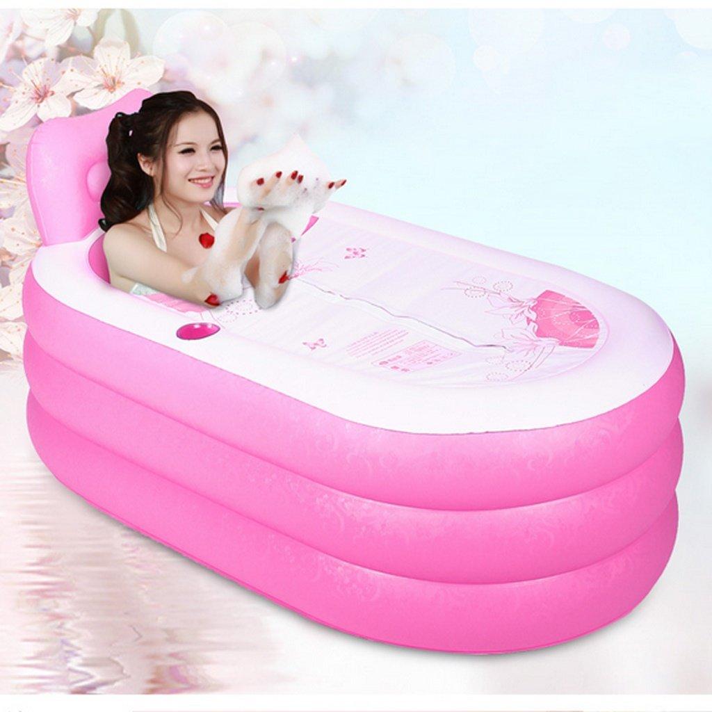 Bathtub Inflatable Bathtubs Adult Bathtubs Children's Bathtubs Bathtubs Folding Bathtubs Baby Swimming Pool (Size : Small)