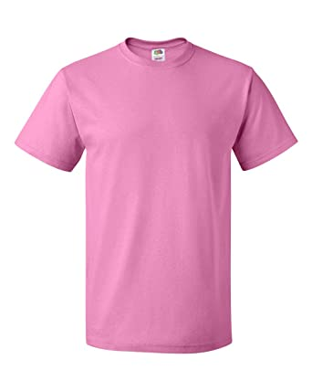 eb331ee7 Fruit of the Loom 5 oz. 100% Heavy Cotton HD T-Shirt at Amazon Men's ...