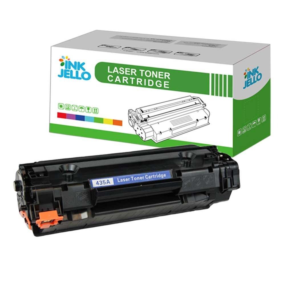 Nero InkJello Compatibile Toner Cartuccia Sostituzione Per HP LaserJet P1005 P1006 P1007 P1008 P1009 CB435A//CB436A