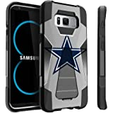 Samsung Galaxy S8 Case | S8 Kickstand Case | SM-G950 Case by Untouchble [Traveler Series] Combat Shockproof Dual Layer Hybrid Case Cover with Kickstand - Texas Star