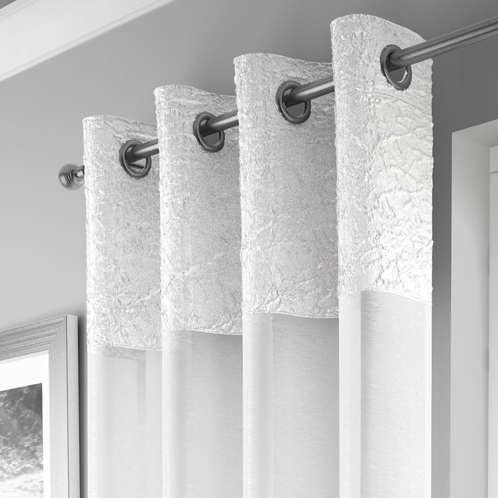 Madeira Eyelet Voile Panel