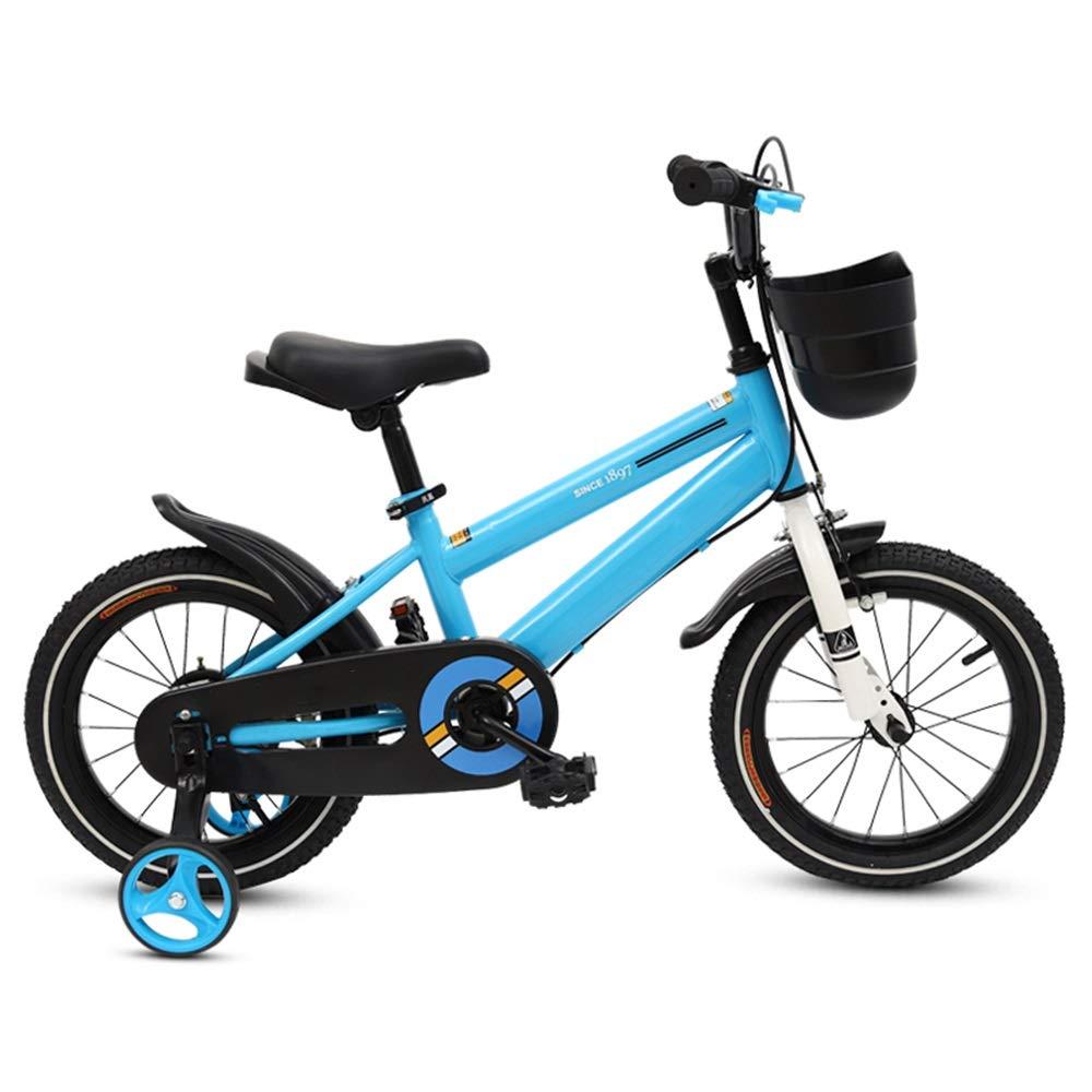 【日本製】 子ども用自転車 フリースタイルの子供用自転車 B07L9XCJSP、調節可能なシートとハンドル12-14-16-18-インチホイール 18、3色有り 少年少女の自転車 18 inch 青 青 B07L9XCJSP, ナガグン:abdef282 --- arianechie.dominiotemporario.com