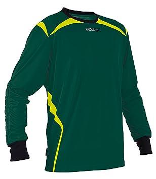 Stanno Livorno Manga Larga Camiseta de Portero de Color Verde Amarillo (Verde de neón Amarillo
