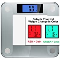 Ozeri Precision II Digital Bathroom Scale (200 kg / 440 lbs / 31 st) with Weight Change Detection Technology &StepOn Activation