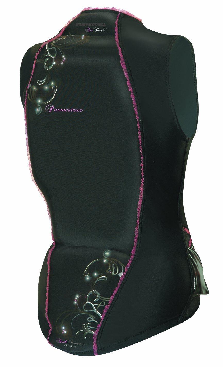 Komperdell Rückenprotektor Provocatrice Top Airshock, schwarz-pink