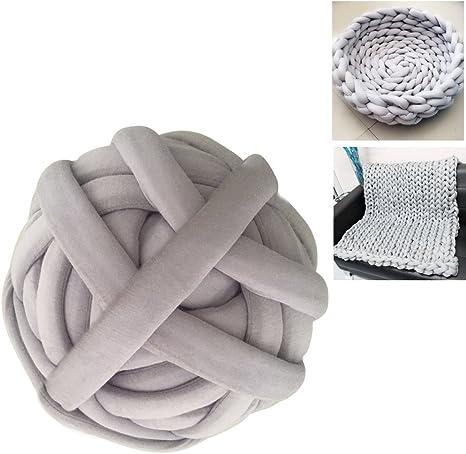Ovillo de lana gruesa, hilo de punto grueso, hilo muy grueso, hilo ...