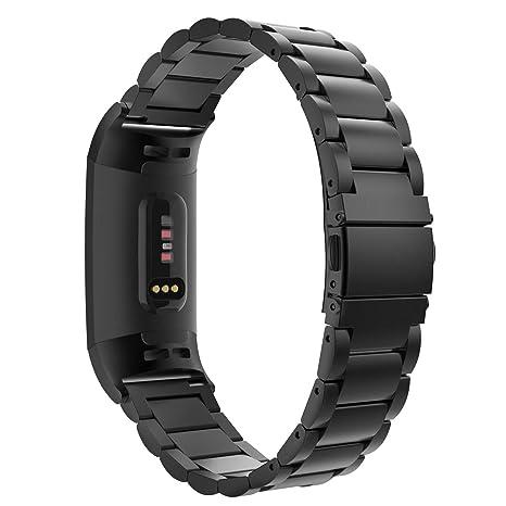 Amazon.com: MoKo - Correa de repuesto para Fitbit Charge 3 ...