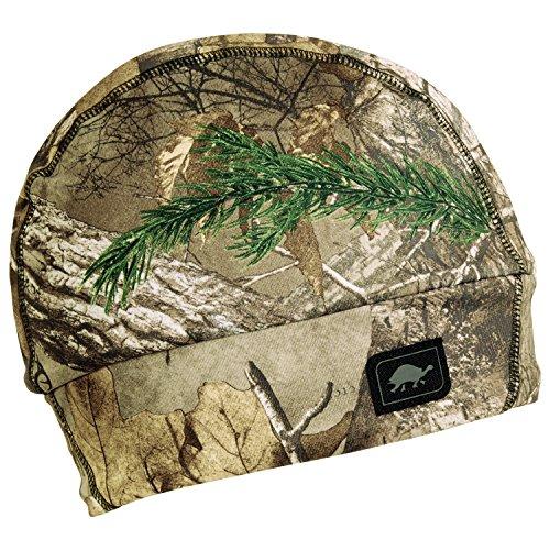 Turtle Fur Hunting - Comfort Shell Drop Zone, Heavyweight Camo Beanie, Realtree Xtra ()