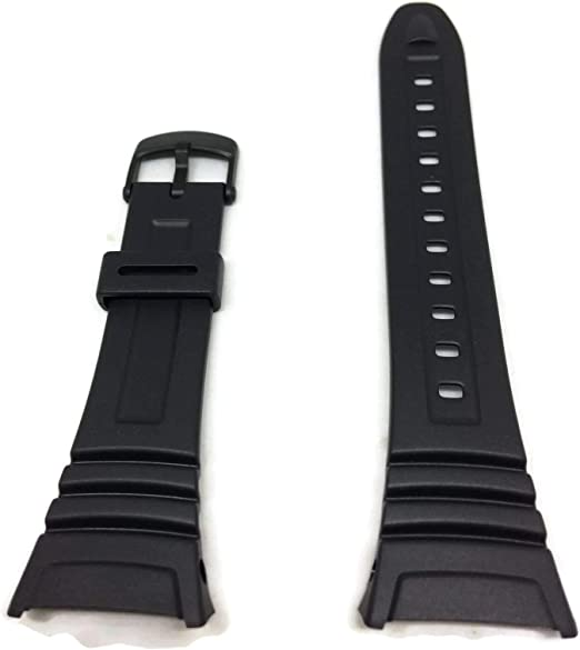 Casio 10076822, Montre ceinture, résine , Noir:  iuOyX