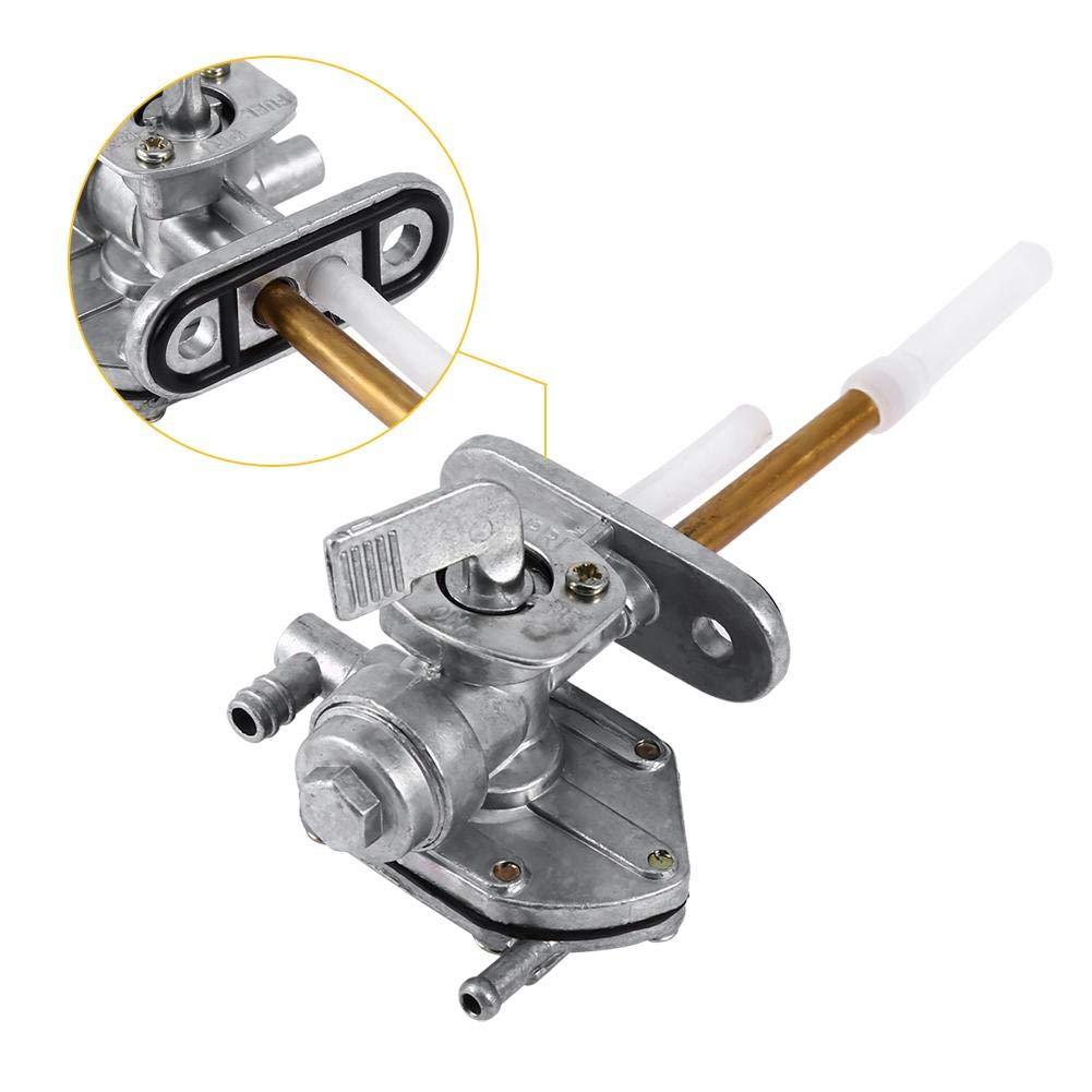 Assembl/ée de commutateur de robinet de robinet de robinet de robinet de carburant de moto Commutateur de r/éservoir de carburant dessence de gaz de Keenso