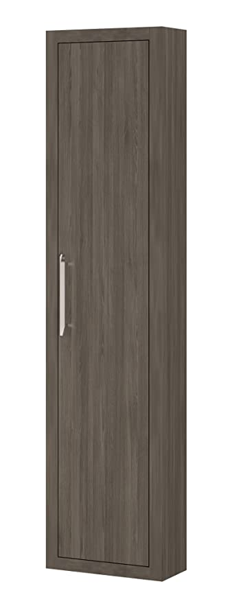 Montreal 15 Inch Wide, Wall Linen Cabinet Furniture, Oak Joplin  Thermo Laminated