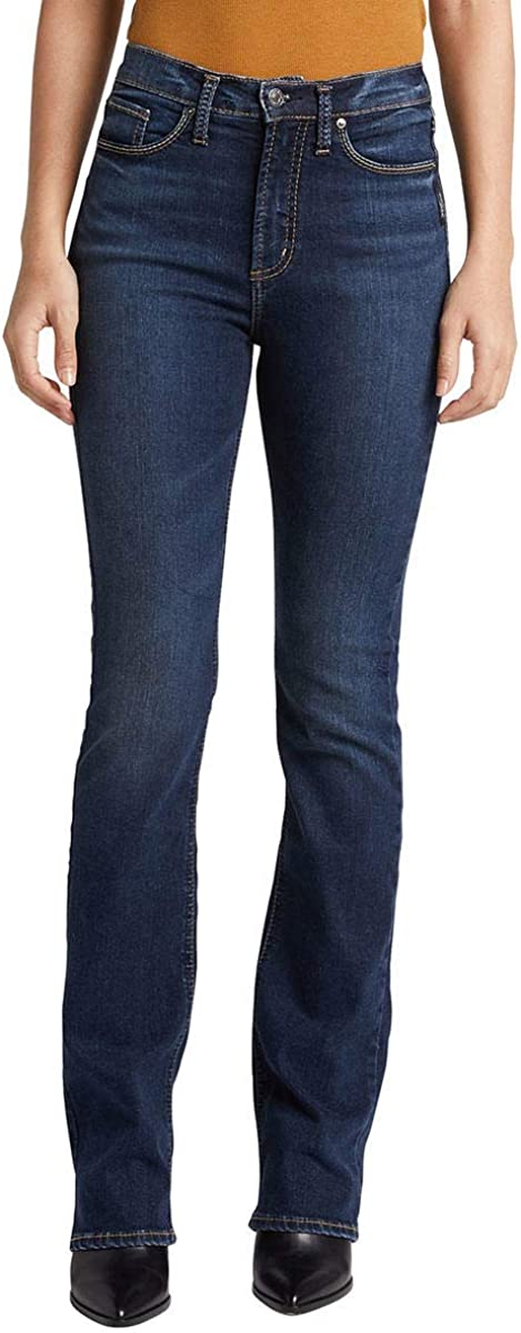 Silver Jeans Co Womens Calley Slim Boot Jeans