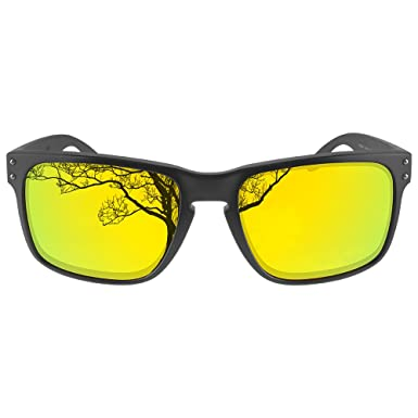 01eef02926 Amazon.com  Dynamix Polarized Replacement Lenses for Oakley Holbrook -  Multiple Options  Clothing