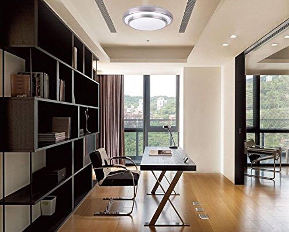 ZHMA Flush LED 8W Ceiling Light,4200K Natural White,640LM,IP44 Moisture-Proof,Lighting for Living Room,Office,Bathroom Kitchen Hallway